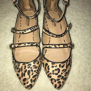MOSSIMO Cheetah Print Flats